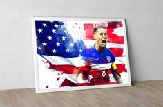 Clint Dempsey Seattle Sounders FC United States by TroutLifeStudio