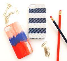 Cabana Stripe iPhone 5 or 4 Case. $39.99, via Etsy.