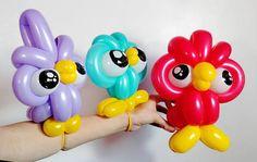 Resultado de imagen para how to make a balloon butterfly