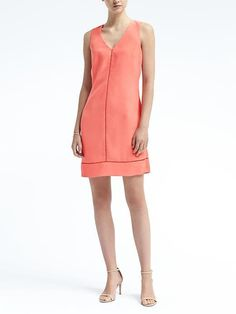 Ladder-Lace Sheath Dress