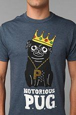Urban Outfitters - Notorious P.U.G. Tee