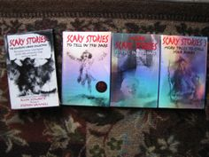 Alvin Schwartz Scary Stories To Tell In The Dark More 3 Boxed Set