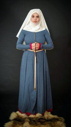 Tailor's - Lenka, Lady's woolen cotte, part 1