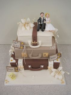 Suitcase wedding case More