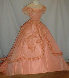Pretty in Pink Late 1860's BallGown ‹ Reader — WordPress.com