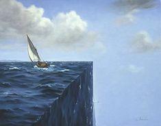 Surrealism Art by surrealist artist charnine - similar to dali, magritte