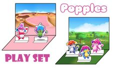 Play Set - Free Fun Party Popples Printables and Activities | SKGaleana