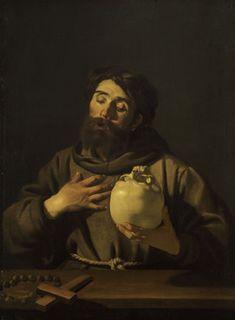 Dirck van Baburen, Saint Francis, Caravagio in Holland, The Städel Museum