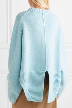 Khaite   Virginia asymmetric cashmere sweater   NET-A-PORTER.COM