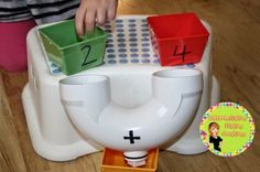 DIY Math Manipulatives for Addition: Differentiation Station Creations Math Activities For Kids, Math Resources, Math Games, Educational Activities, Classroom Activities, Math Classroom, Kindergarten Math, Classroom Ideas, Preschool