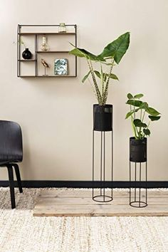 Set of 2 Plant Stands: The stylish plant stands provides the perfect perch for your blooming flowers or verdant plants, whether it's in the corner of a room or greeting guests in the entryway. The plant stands come in a set of 2, so you can scatter them around your home or place them all together for a tiered look.