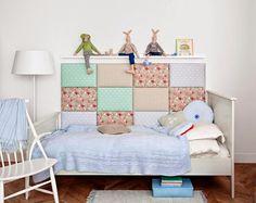 Made for bed - Bebê com Estilo Nursery Room, Boy Room, Kids Room, Blog Bebe, Little Girl Rooms, Headboards For Beds, Girls Bedroom, Toddler Bed, Room Decor