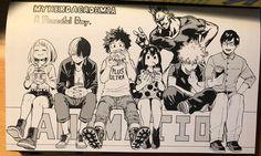 All Might & Uraraka & Todoroki & Midoriya & Tsuyu & Bakugou & Iida