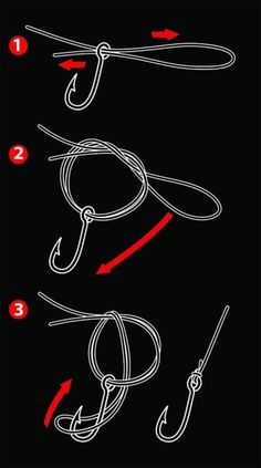 My favorite knot for larger targeted fish...