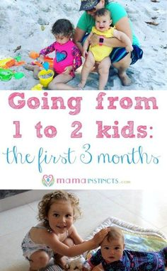 When I was pregnant I remember wondering how life would be once my second baby…