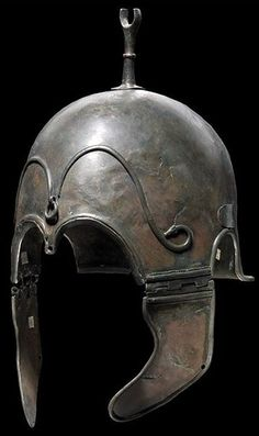 A Chalcidian helmet 'ancient' auctioned by Hermann Historica, Germany