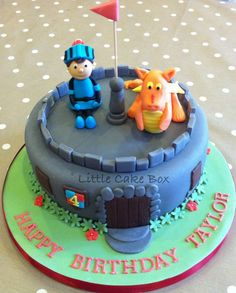 Mike the Knight birthday cake. | My Cakes | Pinterest | Knight ...