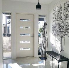 Home Door Design, Front Door Design, Home Interior Design, Exterior Design, House Design, Modern Front Door, House Front Door, House Doors, Home Entrance Decor