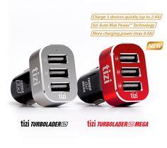 Side by side: tizi Turbolader 3x and tizi Turbolader 3x MEGA