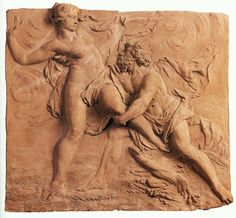 The Abduction of Persephone by Hades. Jan Peter van Baurscheit, the Elder. Flemish sculptor (b. Antwerpen) Terracotta, x cm Musées Royaux des Beaux-Arts, Brussels. Greek And Roman Mythology, Greek Gods And Goddesses, Roman Sculpture, Sculpture Art, Hades Und Persephone, Historical Artifacts, Greek Art, Dutch Artists, Art For Art Sake