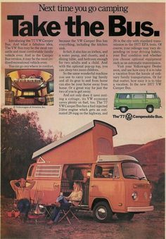 1977 Volkswagen Campmobile Ad