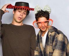 My boyyyzzzz😍😍😍😍 #wolfies  #DylanO'Brien #TylerPosey #silly #lit