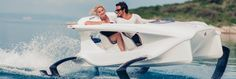 This looks like great fun..... The Quadrofoil hydrofoil electric watercraft Q2. Providing the most economically efficient and completely environmentally friendly mode of recreational marine transportation.#wevegotitcovered @Technocraftsl