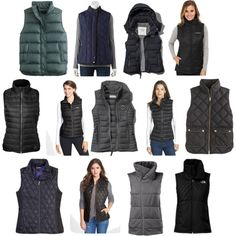 Puffer & quilted vests for fall | Fall Style | www.tequilacupcakes.com