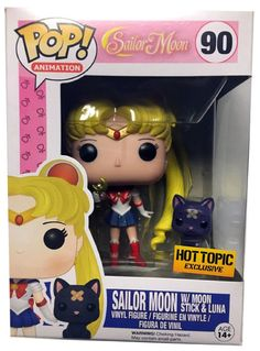 Hot Topic exclusive Sailor Moon with bandaged Luna