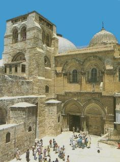 Basílica do Santo Sepulcro - Jerusalém