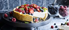 White Chocolate Cremora Tart - Back to the classics. - My Easy Cooking Melting Chocolate, White Chocolate, Tart Recipes, Dessert Recipes, Dessert Ideas, Vegan Recipes, Vegan Cheesecake, South African Recipes, Pavlova