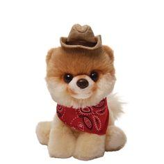 "Gund  Boo 5"" Itty Bitty Cowboy Hat The Worlds Cutest Dog Soft Toy £9.95"