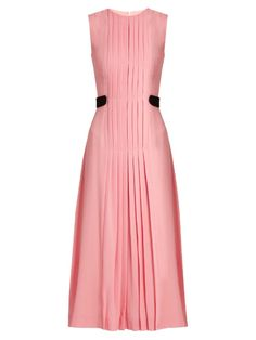 Jolley pleated wool-crepe dress | Emilia Wickstead