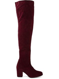 6058a0bc534 Thigh High Boots by Opening Ceremony  celebrity  style Suede Boots