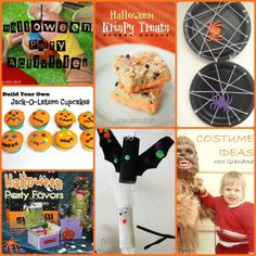 Halloween Party Activities, Crafts & Recipes - events to CELEBRATE!