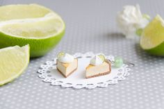 Hey, I found this really awesome Etsy listing at https://www.etsy.com/listing/215223954/key-lime-cake-earrings-handmade-polymer