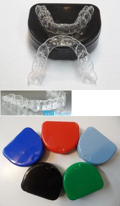 Other Oral Care: *2*Premium Essix Plus Custom Clear Dental Teeth Retainers *Upper And Lower+Case -> BUY IT NOW ONLY: $110 on eBay!