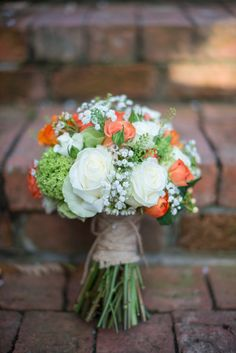 Boquette Flowers, Prom Flowers, Rustic Flowers, Bridal Flowers, Flower Bouquet Wedding, Navy Rustic Wedding, White Roses Wedding, Orange Wedding Flowers, Bridal Boquette
