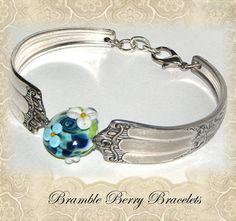 Spoon Bracelet  Vintage Spoon Bracelet  by brambleberrybracelet, $32.50