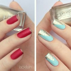 Inspiration on Pretty Metallic & Matte Dotted Mani by Jill Hilhurst. Check out more Nails on Bellashoot. Fancy Nails, Cute Nails, Pretty Nails, Nail Bling, Colorful Nail Designs, Cute Nail Designs, Fabulous Nails, Gorgeous Nails, Nail Candy