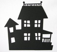 haunted mansion silhouette - Google Search