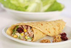 Tuňákové palačinky – magnilo Tacos, Veggies, Bread, French, Ethnic Recipes, Fit, Vegetable Recipes, French People, Shape