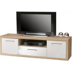 TV Unterschrank Sunny IV in 4 verschiedenen Farbvariationen (Q34, C57, P96, P95) auch in anderen Größen und in komplett Weiss Hochglanz ( Sunny III) erhältlich 1 x TV Unterschrank mit 2...