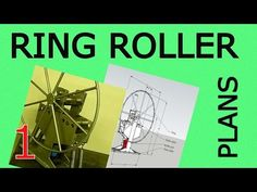 DIY Ring roller with hydraulic jack -Plans available soon- - YouTube
