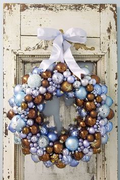 ** New Year's Day Wreath @daytodaydreams