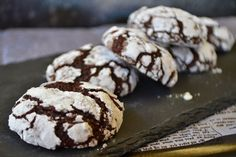 All The Little Extras: Chocolate Crinkle Cookies