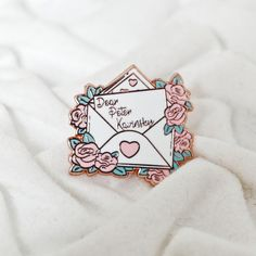 I Still Love You, My Love, Geek Chic Fashion, Movies For Boys, Apple Watch Accessories, Lara Jean, Pin And Patches, Book Lovers Gifts, Cute Pins