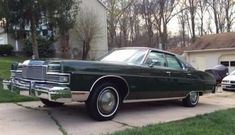 Don't Donk It: 1973 Mercury Marquis - http://barnfinds.com/dark-green-poly-1973-mercury-marquis/