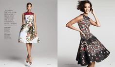 Joan Smalls photographed by Victor Demarchelier for Neiman Marcus August 2013
