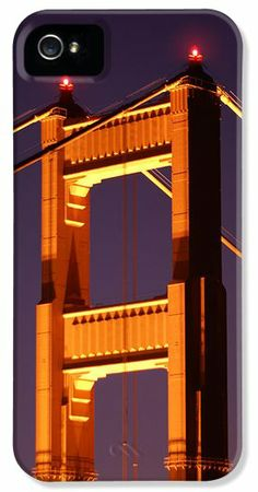 Golden Gate Bridge Tower iPhone 5 Case / iPhone 5 Cover for Sale by Daniel Woodrum
